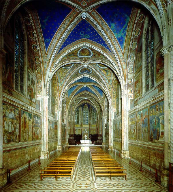 Basilica Di San Francesco D U0026 39 Assisi Altare Maggiore